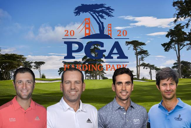 Españoles en el PGA Championship 2020