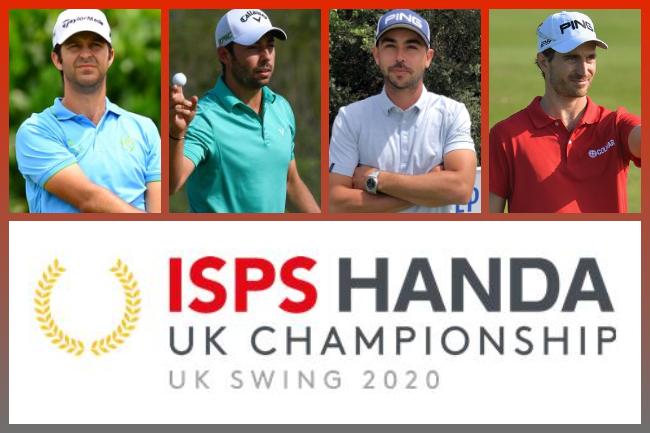 Españoles en el UK Championship 650