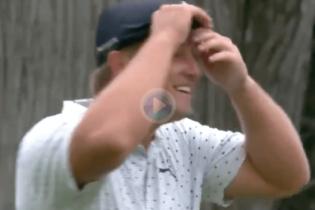 DeChambeau se mete en la pelea por el US PGA después de este grandioso putt desde ¡29 metros!