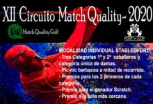 El espectacular Circuito Match Quality hace parada este próximo sábado (5 sep.) en Font del Llop Golf