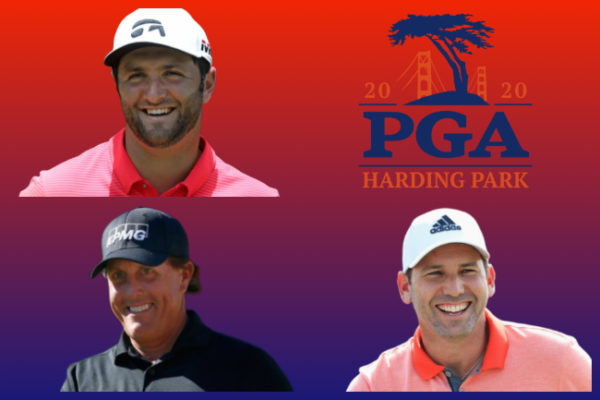 ¡Partidazo a la vista en el PGA Champ.! Jon Rahm, Sergio García y Mickelson, juntos jueves y viernes