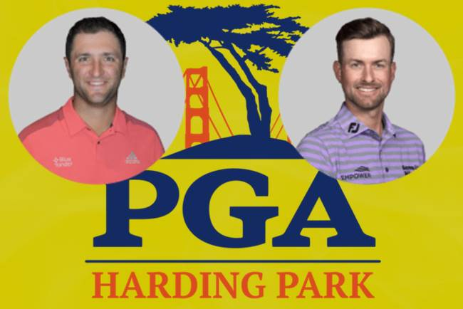 Jon Rahm y Webb Simpson ronda final US PGA