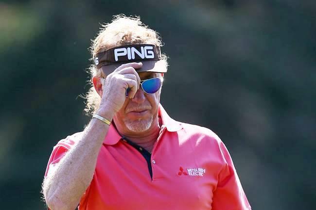 Miguel Ángel Jiménez no pierde de vista la cabeza en el 1er Grande Senior a pesar de tener un mal día