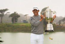 """Morikawa completa un año """"pro"""" para el recuerdo con su primer triunfo en un Major. Rahm, gran T13"""