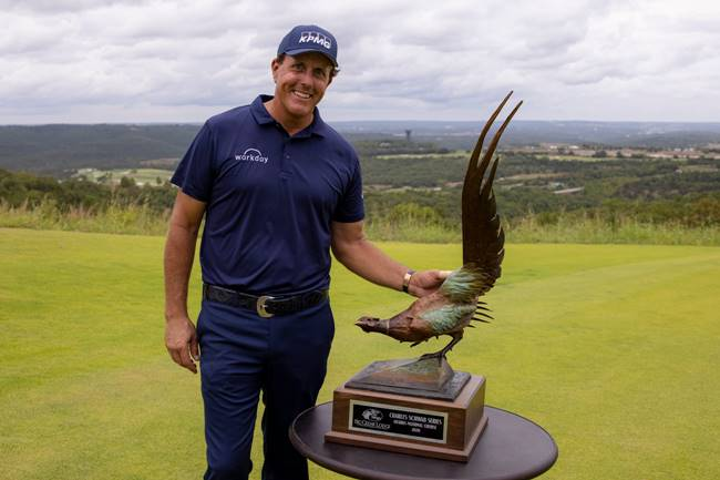 Phil Mickelson campeón en el Charles Schwab Series at Ozarks National del Champions Tour