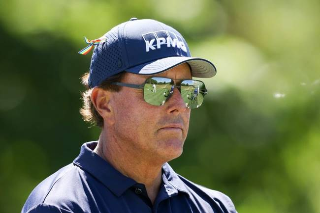 Phil Mickelson. Foto @TrackingPhil