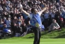 Este putt de McDowell en la Ryder Cup celebrada en Celtic Manor decidió el triunfo para Europa