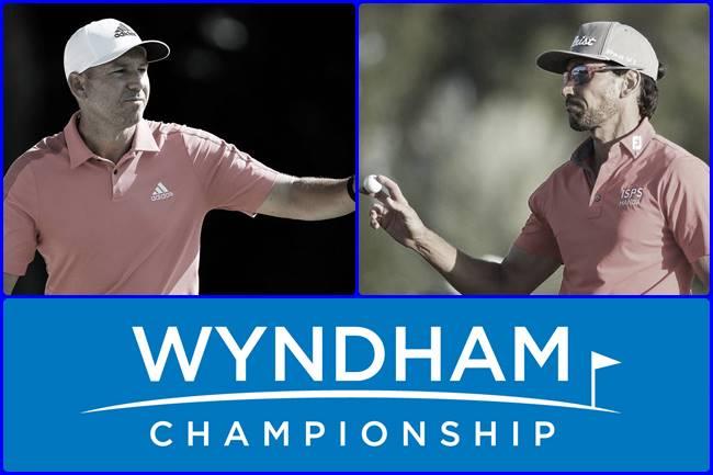Sergio García y Rafa Cabrera Bello en el Wyndham Championship 650