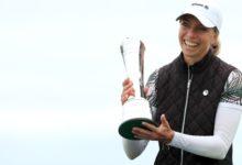 Sophia Popov hace saltar la sorpresa en el British Open con su semana más grande. Azahara, Top 39