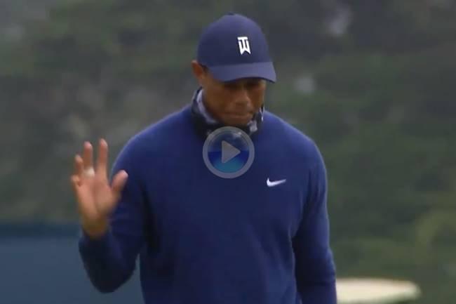 Tiger Woods inicia el camino a la búsqueda de su 16 Grande con dos birdies en los 4 primeros hoyos