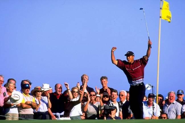 Tiger Woods en Valderrama