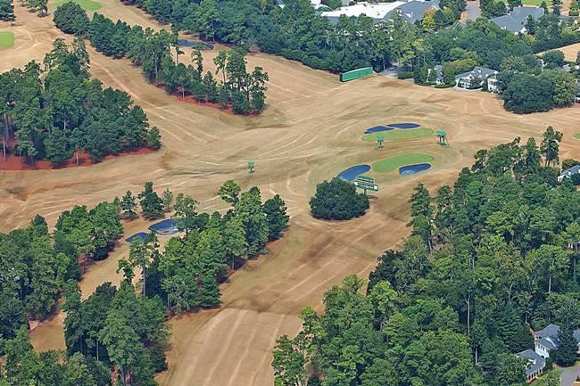 ¿Dónde está el verde? Así se ve el Augusta National a 44 días para que dé comienzo el Masters 2020