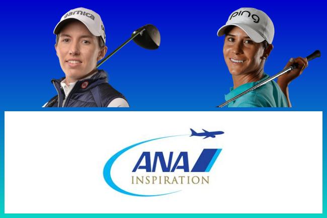 Carlota Ciganda y Azahara Muñoz en el ANA inspiration 2020 650