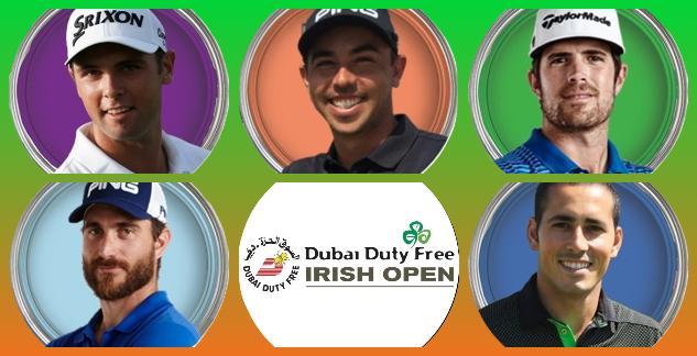 5 españoles a por el título del Irish Open, evento que conquistaron Seve (3), Jon (2), Chema y Sergio
