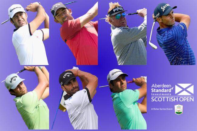 Españoles en el Scottish Open 2020