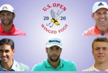 ¡La Armada, con Rahm, García, Cabrera, Otaegui y Rousaud, a por el US Open! Segundo Grande del año