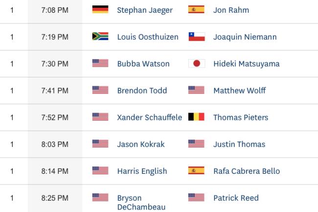 Rafa se las verá con el norteamericano Harris English en el penúltimo encuentro del sábado