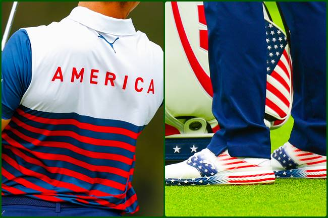 Gary Woodland Outfit US Open dia 1