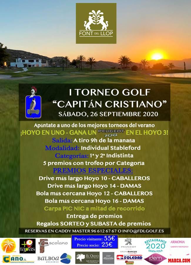 I Torneo Capitán Cristiano Font del Llop 650