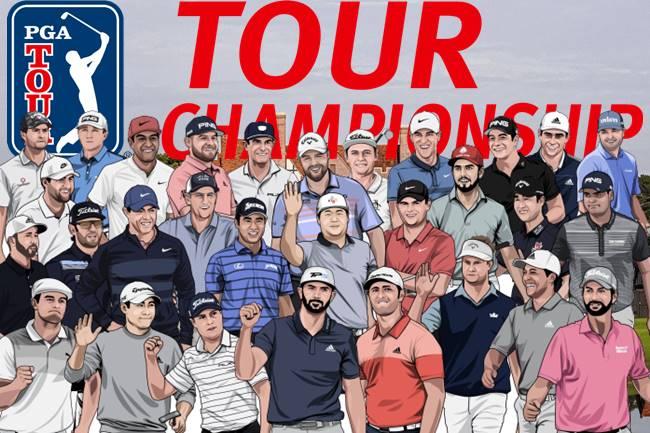 Jugadores Tour Championship. Foto @GolfTV 650