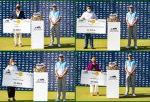 El Andalucía Masters recauda 100.000 € que irán a 4 entidades benéficas gracias al «Golf for Good»