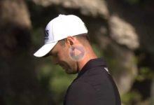Kaymer vivió la cara más amarga del Golf con este chip que se quedaba colgando para salir al PlayOff