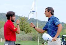 Sólo Manassero evita que Ángel Hidalgo y Manuel Elvira conquisten su primer título en el Alps Tour