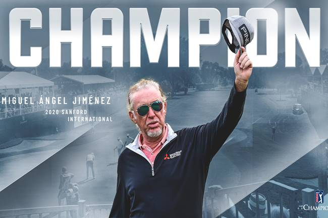 Miguel Angel Jimenez campeon en el Sanford International