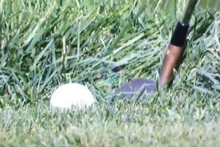 ¿Lo volvió a hacer Patrick Reed? ¿Mejoró el lie con el palo aplastando la hierba? Juzguenlo ustedes
