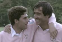 El European Tour homenajea a José María Olazábal en su regreso a la competición en el RC Valderrama