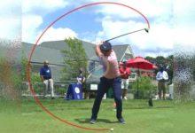 Vea a cámara super lenta el poderosísimo swing de Bryson Dechambeau, campeón del US Open 2020