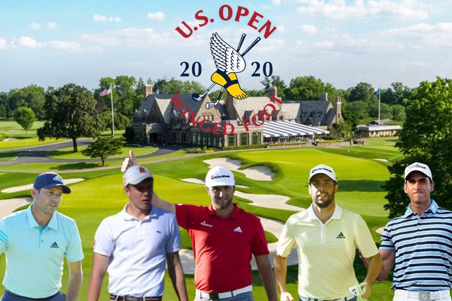 US Open 2020 Winged Foot españoles