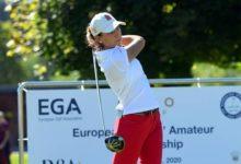 Elena Hualde se mete en la lucha por el Camp. de Europa Individual con una gran vuelta: 66 golpes