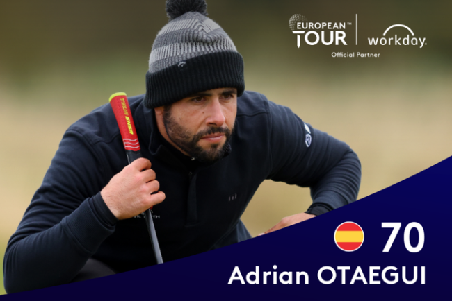 Adrian Otaegui, Scottish Championship 2020 j2, Fairmont St Andrews,