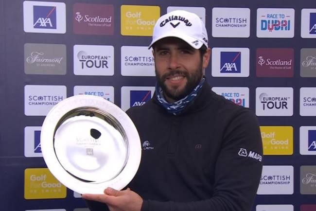 Adrian Otaegui campeon en el Scottish Championship