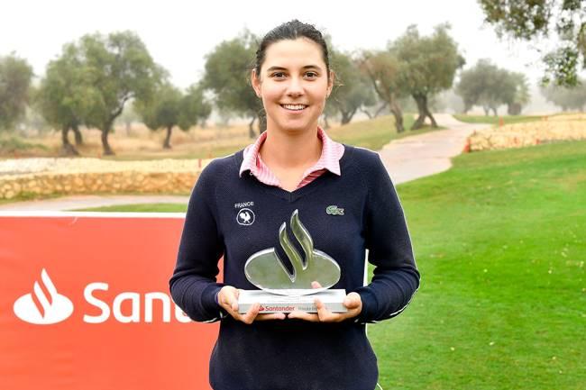La amateur Laisne se hace con el triunfo en Lauro Golf tras cancelarse la jornada a causa de la lluvia