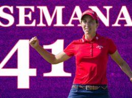Carlota Ciganda brilla en la Semana 41/2020 tras subirse al podio en el US PGA, 3er Grande del año