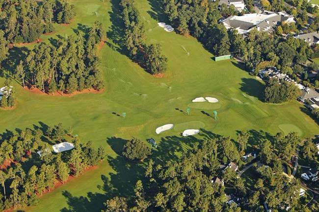 Augusta National verde. Foto @EurekaEarthPlus