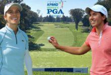 Dos españolas, Carlota Ciganda y Azahara Muñoz, pelearán por el tercer Grande del año: el US PGA