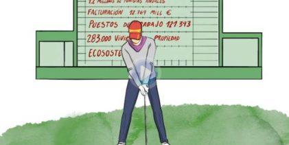 Estos son algunos de los números del Golf español. Números importantes resumidos en 1′ y medio