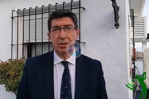 Juan Marín, Vpdte. de la Junta: 'La Solheim Cup será una fiesta para Andalucía y para la Costa del Sol'