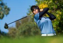 La amateur Marta Llorca y Mireia Prat no pierden la estela de Agathe Laisne en Lauro Golf, Málaga