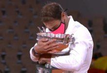 Nadal vuelve a ascender a los cielos de París tras sumar su decimotercer título en Roland Garros