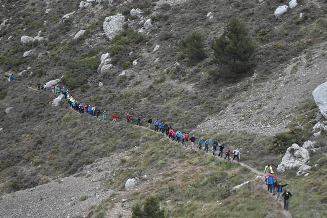 Rutas Sierra de Bernia. Foto femecvcom