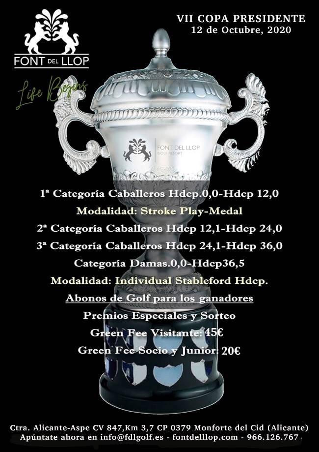VII Copa Presidente Font del LLop
