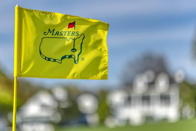 Bandera Masters. Foto @TheMasters