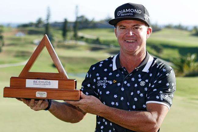 Gay tuvo que retrasar su viaje al torneo del PGA Tour en Bermudas por exceso de peso en el avión