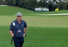 Nick Faldo promete correr desnudo por el Augusta National si DeChambeau caza el green del 1