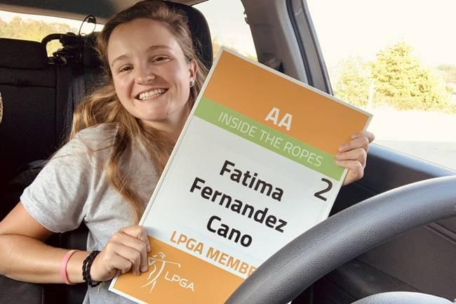 Fátima Fernández Tarjeta LPGA