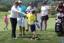 Tommy Morrissey, el niño de 9 años de un solo brazo que se enfrenta a los «Pros» incluido Jiménez